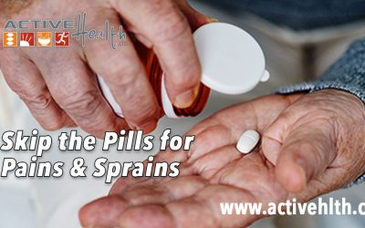 Skip the Pills for Sprains and Strains