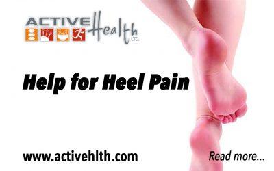 Help for Your Heel Pain