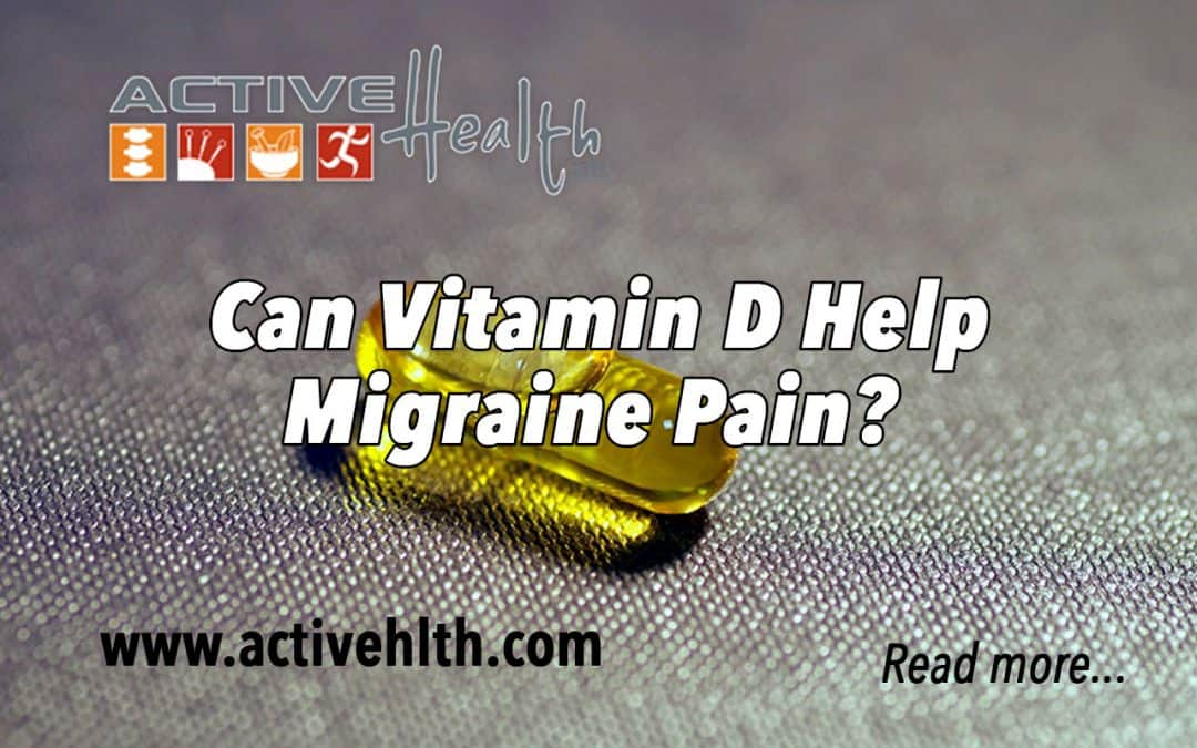 Suffering From Migraine Headaches? Vitamin D can help! ☀️