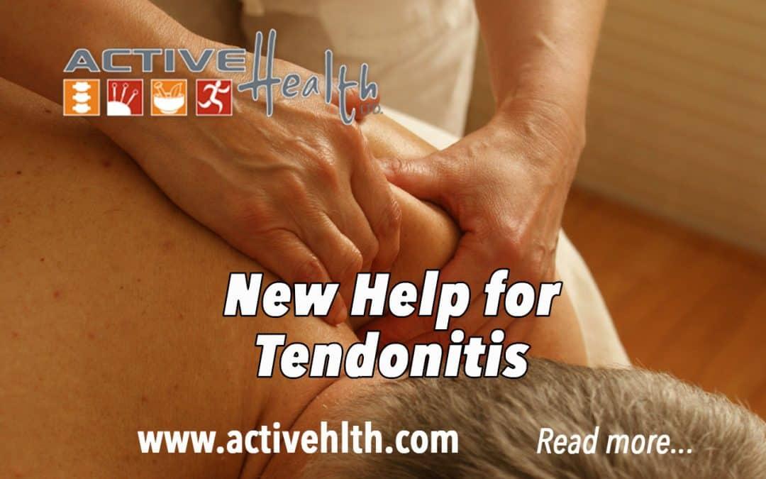 Chronic Tendonitis Needs Movement Not Rest