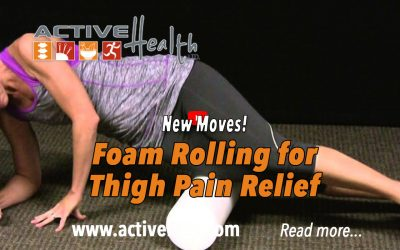Foam Rolling for Iliotibial Band Pain Relief