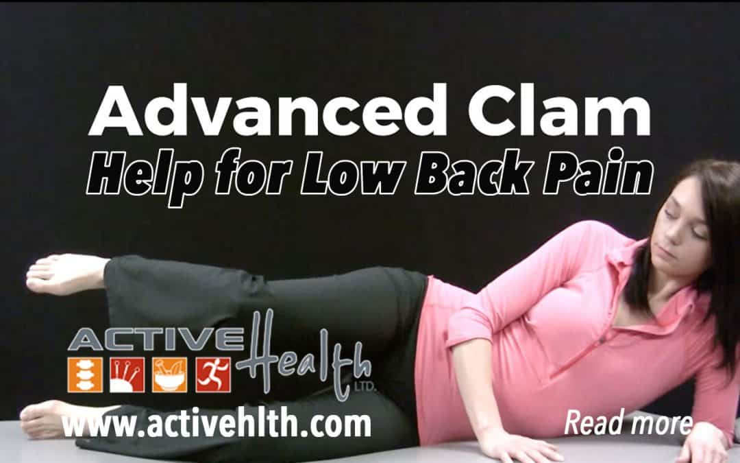 A new study concluded that low back pain may be linked to HIP weakness…