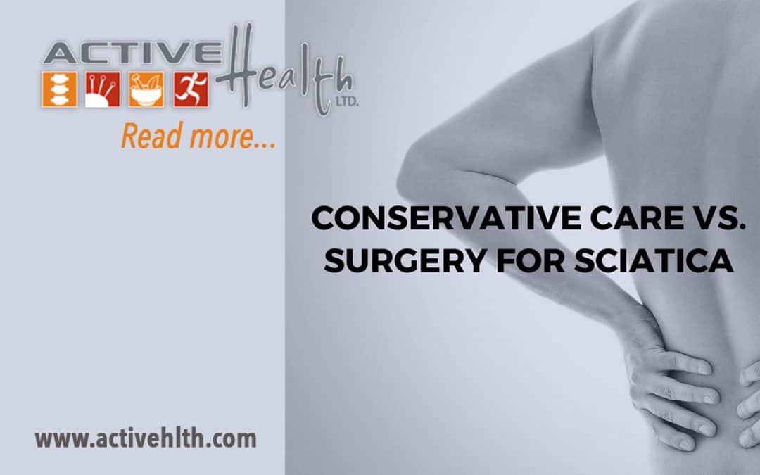 Conservative Care for Sciatica
