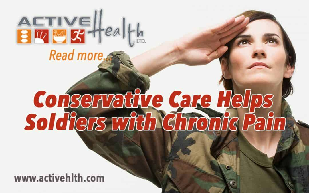Conservative Care Helps Soldiers with Chronic Pain