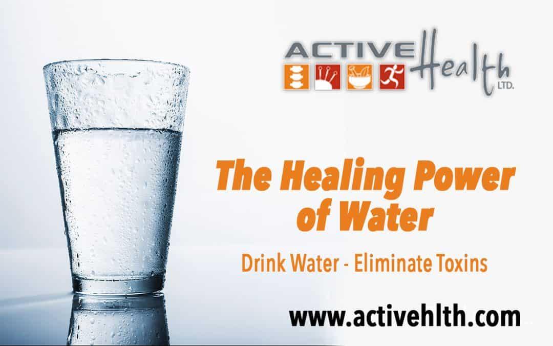Water Helps Heal Injuries