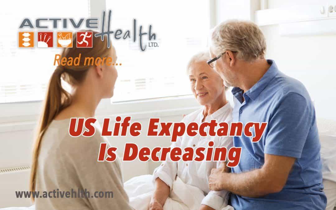 US Life Expectancy Is Decreasing