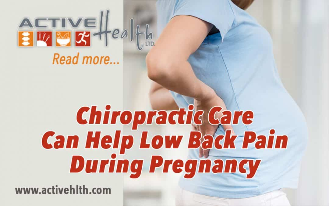 ?News flash: Pregnancy Can Cause An Increase In Low Back Pain!