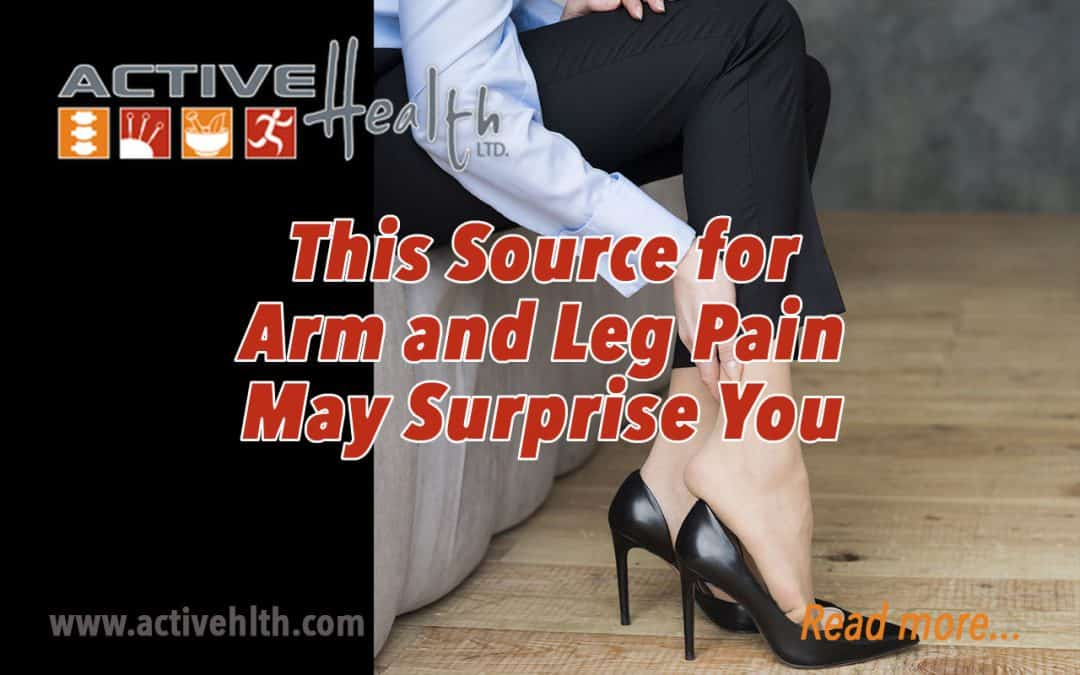 Your Spine May be the Source for Arm and Leg Pain