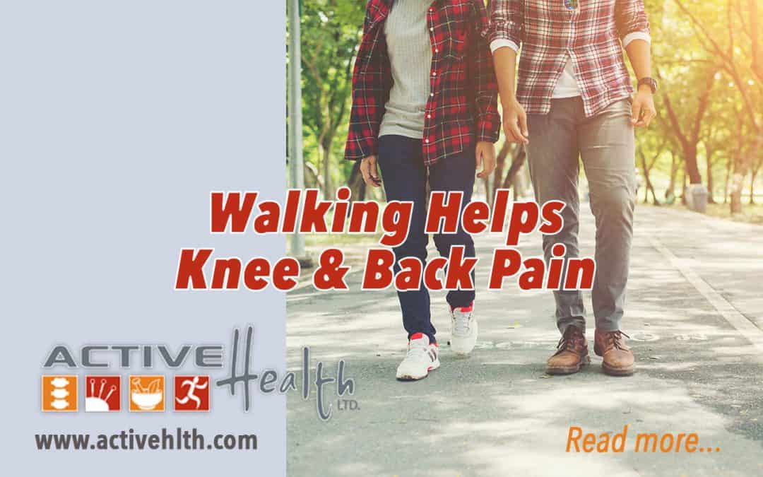 walking helps knee pain