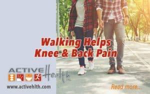 walking helps knee pain