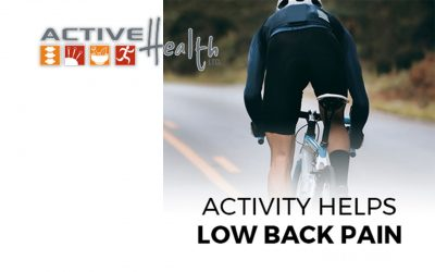 A new study found that people who run and cycle have less low back pain! ?