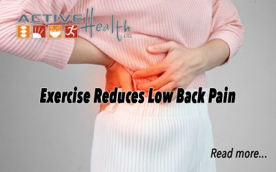 Exercise Reduces Low Back Pain