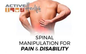 low back pain spinal manipulation