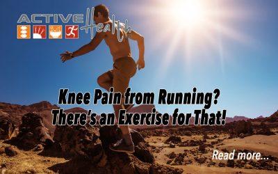 Knee Pain from Running?