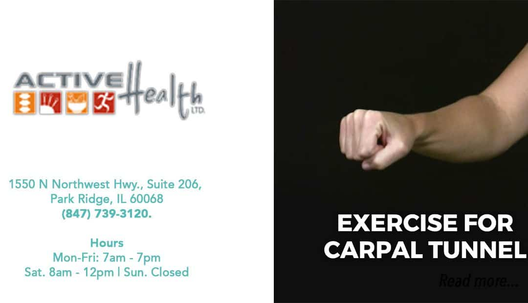 Exercises to Help Carpal Tunnel Syndrome Pain