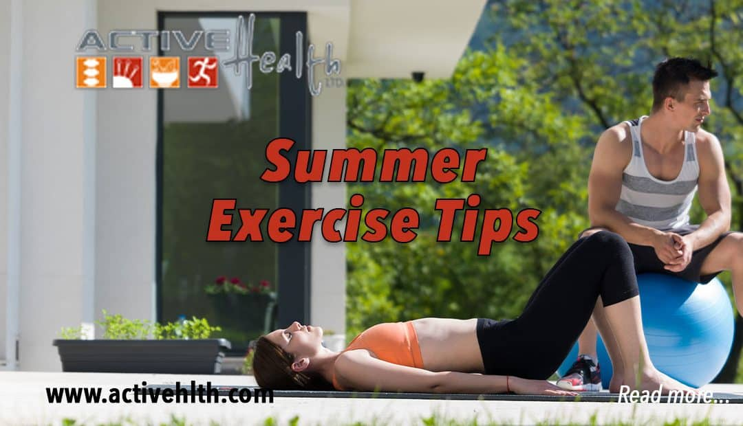 4 Outdoor Exercise Tips for Summer