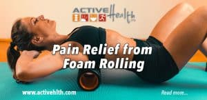 foam rolling pain relief