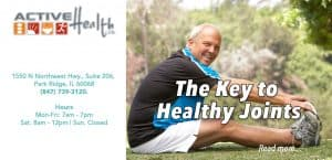 key to healthy joints