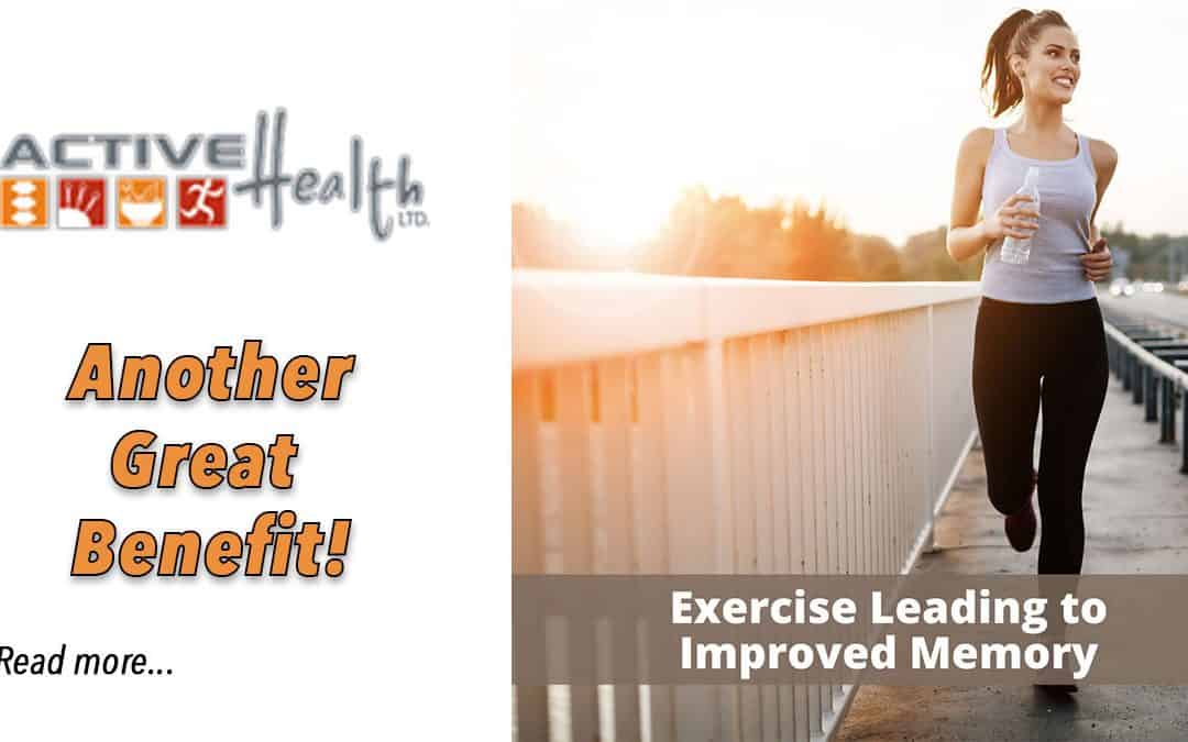 Exercise To Improve Memory