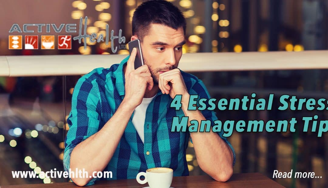 4 Essential Stress Management Tips for the Holidays