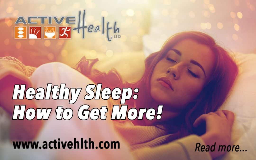 Healthy Sleep Is Important! 💤