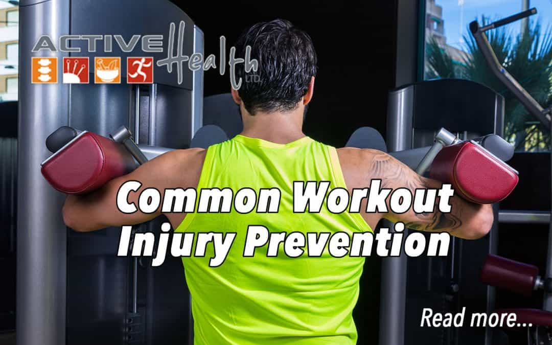 Prevent Common Workout Injuries