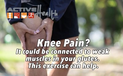 Experiencing Knee Pain? It Could Be Due To Your Glutes! 🍑