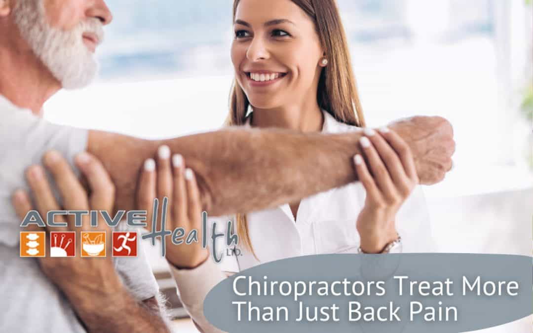 Chiropractic Treatments for More Than Just Back Pain