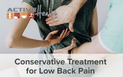 Conservative Treatment for Low Back Pain