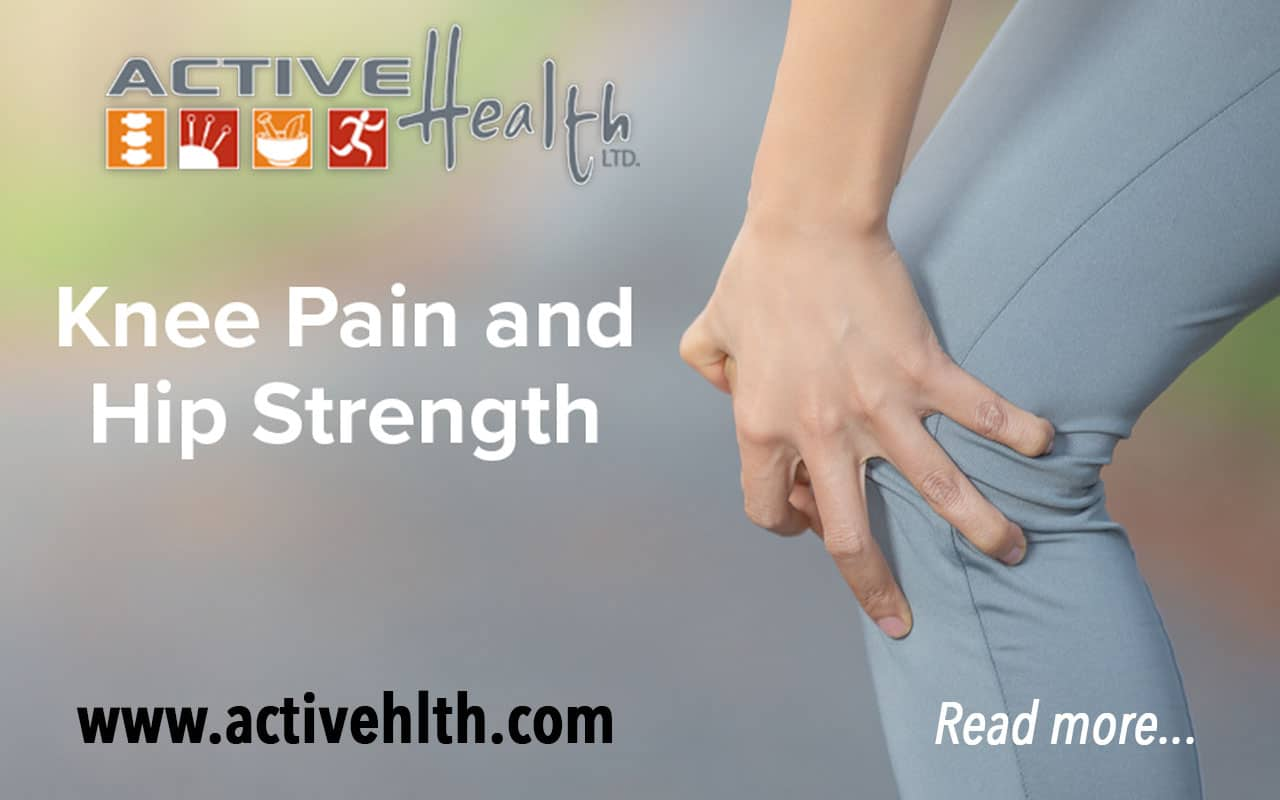 knee pain hip strength