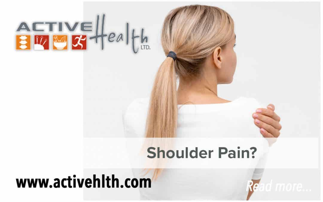 Experiencing Shoulder Pain? Hold the MRI…