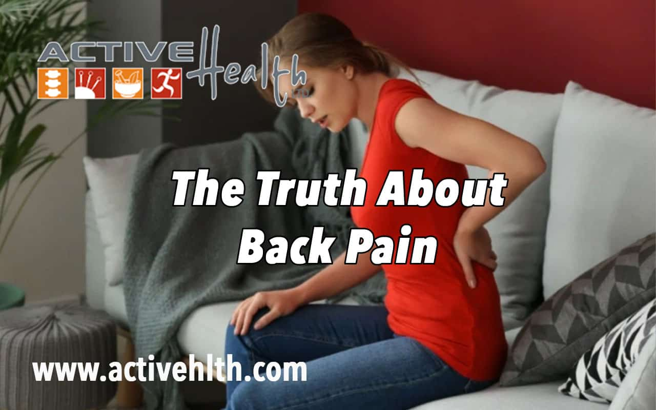 truths about back pain