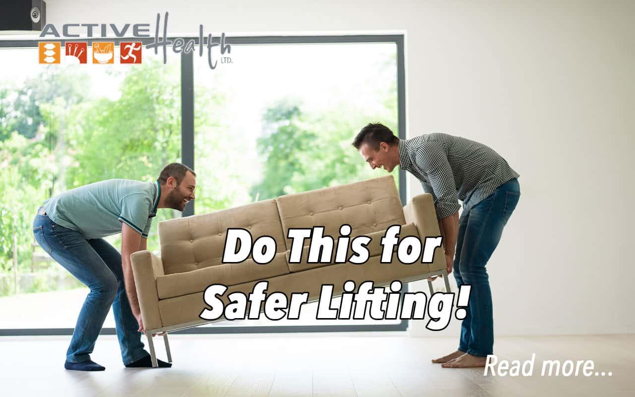 safer lifting