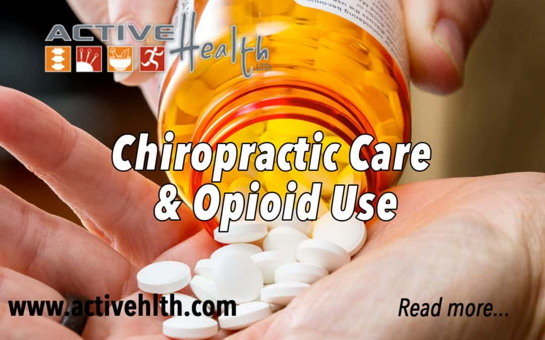 Chiropractic Care & Opioid Use  💊❌