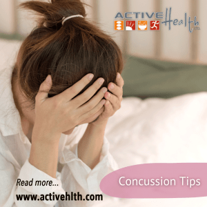 concussion tips
