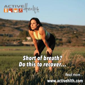 running short of breath
