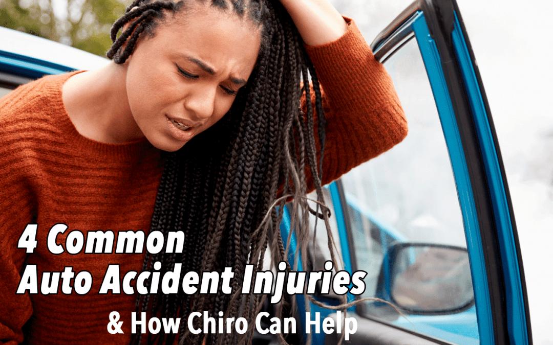 4 Common Auto Accident Injuries